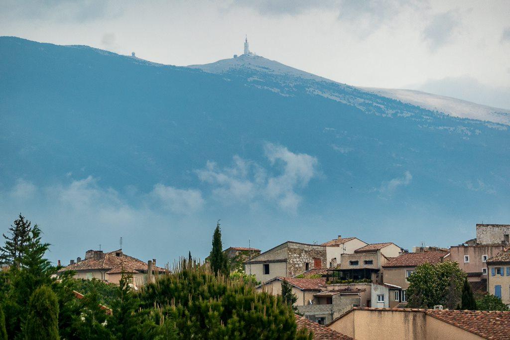 Mont Ventoux von La Roque aus